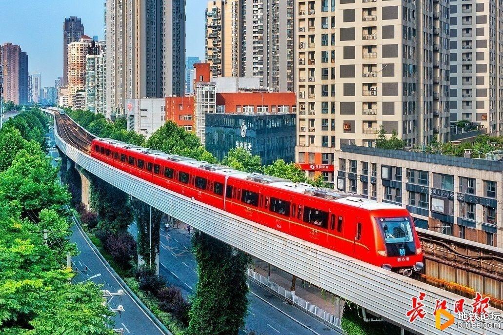 """武汉地铁红色专列""""初心号""""首发,""""移动红色博物馆""""..."""