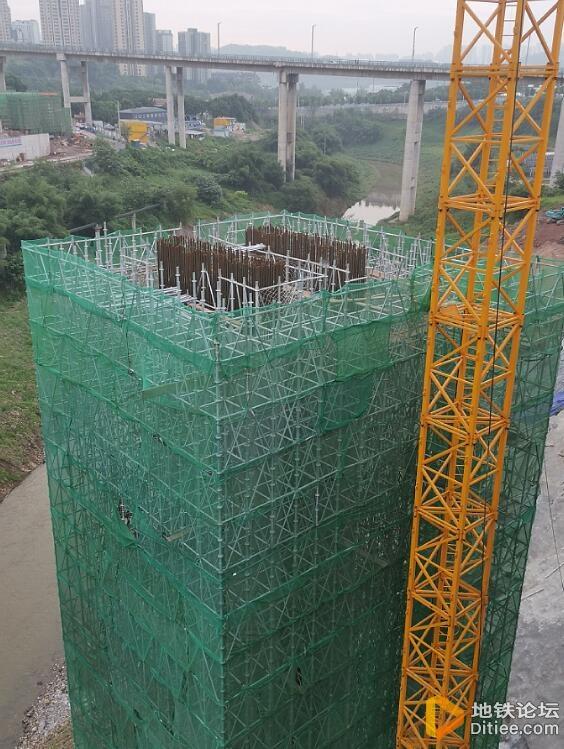 李家沱复线桥2021.5.16修建进度(不定期更新)